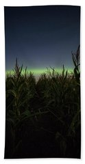 Hand Towel featuring the photograph Behind The Rows by Aaron J Groen