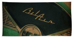 Hand Towel featuring the photograph Belair Dashboard by Joel Witmeyer