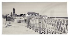 Bath Towel featuring the photograph Beyond The Dunes by Colleen Kammerer