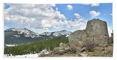 Big Horn Mountains In Wyoming Bath Towel