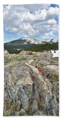 Big Horn Pass In Wyoming Hand Towel