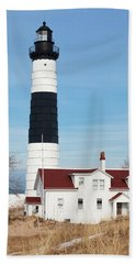 Big Sable Lighthouse Bath Towel