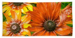 Black-eyed Susan Bath Towel