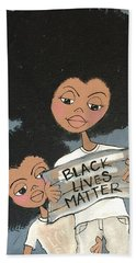 Black Lives Matter Hand Towel
