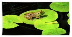 Bath Towel featuring the photograph Blending In by Greg Fortier