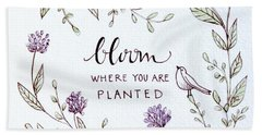 Bloom Hand Towel