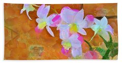 Hand Towel featuring the painting Bloom by Wayne Pascall