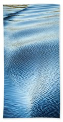 Bath Towel featuring the photograph Blue On Blue by Karen Wiles