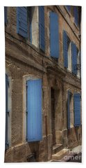 Blue Shutters Bath Towel