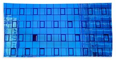 Blue Wall Bath Towel