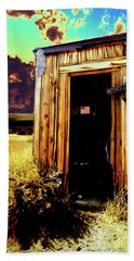 Bodie Outhouse Hand Towel by Jim And Emily Bush