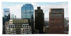 Boston Financial District Hand Towel