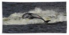 Bottlenose Dolphin Bath Towel