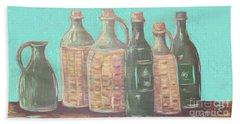 Bottles Hand Towel
