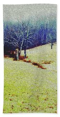 Bath Towel featuring the photograph Brandywine Landscape by Sandy Moulder