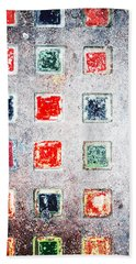 Bright Grunge Abstract Bath Towel