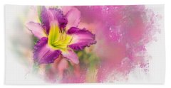Bright Lily Hand Towel