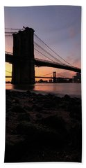Brooklyn Sunrise Hand Towel