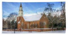 Bruton Parish In Winter II Hand Towel
