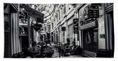 Monochrome Bucharest  Macca - Vilacrosse Passage Bath Towel