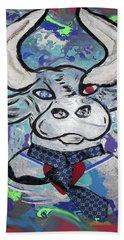 Bullish - A Bull With A Heart - Untie Me Hand Towel