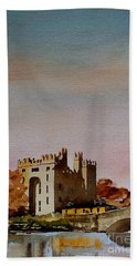 Bunratty Castle, Clare Bath Towel