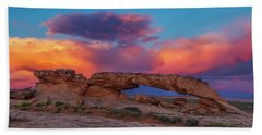 Burning Skies Hand Towel