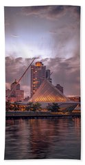 Calatrava Drama Bath Towel by James Meyer