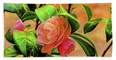 Camellia Candy Hand Towel