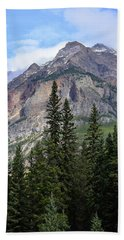 Canadian Rockies No. 2-1 Bath Towel