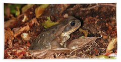 Cane Toad Bath Towel