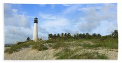 Cape Florida Lighthouse Bath Towel