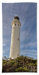 Bath Towel featuring the photograph Cape Leeuwin Lighthouse by Ivy Ho