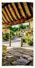 Castle Combe Village, Uk Hand Towel by Chris Smith