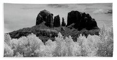 Cathedral Rock Sedona Arizona Hand Towel