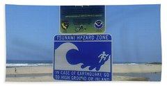 Tsunami  Hand Towel