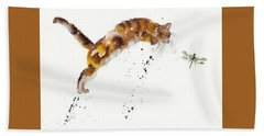 Chasing The Dragon Bath Towel