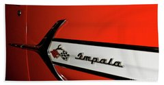 Chevy Impala Bath Towel