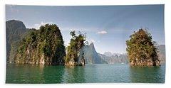 Cheow Lan Lake, Gui-lin Of Thailand Bath Towel