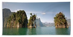 Cheow Lan Lake, Gui-lin Of Thailand Bath Towel
