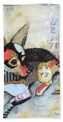 Chihuahua Bath Towel by Patricia Lintner