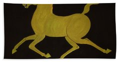 Chinese Horse #2 Bath Towel