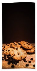 Choc Chip Biscuits Bath Towel