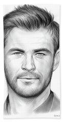 Chris Hemsworth Bath Towel