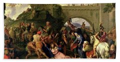 Christ Carrying The Cross Bath Towel