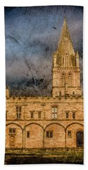 Oxford, England - Christ Church College Bath Towel