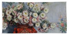 Chrysanthemums Hand Towel