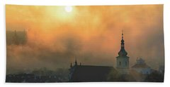 Church Of Our Lady Victorious, Prague, Czech Republic. Bath Towel