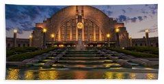 Cincinnati Museum Center At Twilight Bath Towel