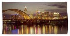 Cincinnati Hand Towel by Scott Meyer